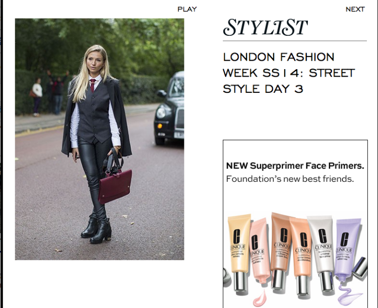 London Fashion Week SS14: Street Style Day 3 - Fashion Week - Stylist Magazine
