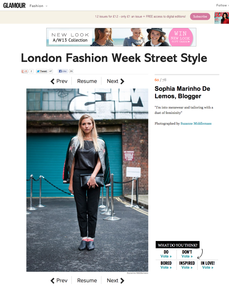 London Fashion Week Street Style – Best Outfits & Looks (Glamour.com UK) (Glamour.com UK)