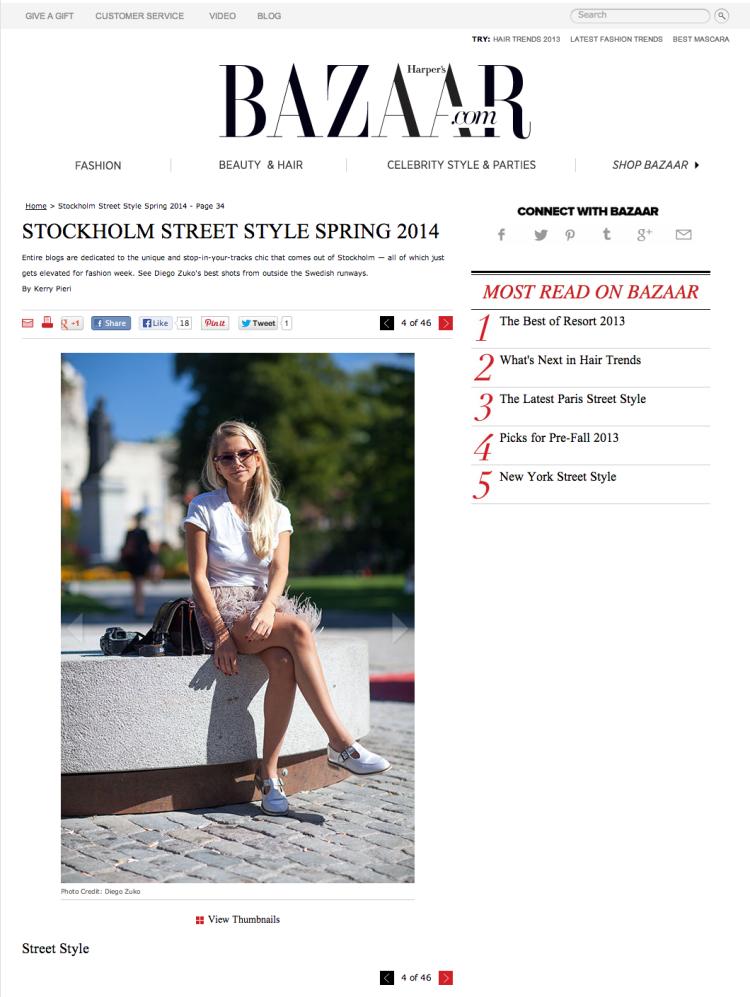 Street Style - Harper's BAZAAR