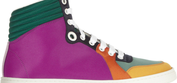 Coda Multi-colour high-tops by GUCCI