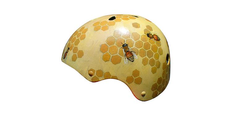 Saddle and Spoke Honeycomb Helmet - £155