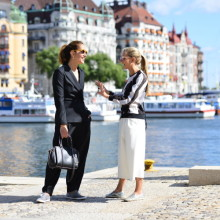 The Second day of Stockholm Fashion Week
