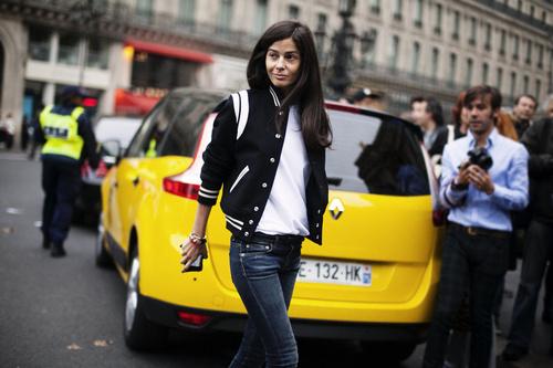la-modella-mafia-Barbara-Martelo-Spring-2014-Paris-fashion-week-street-style-in-Saint-Laurent-by-Hedi-Slimane-2